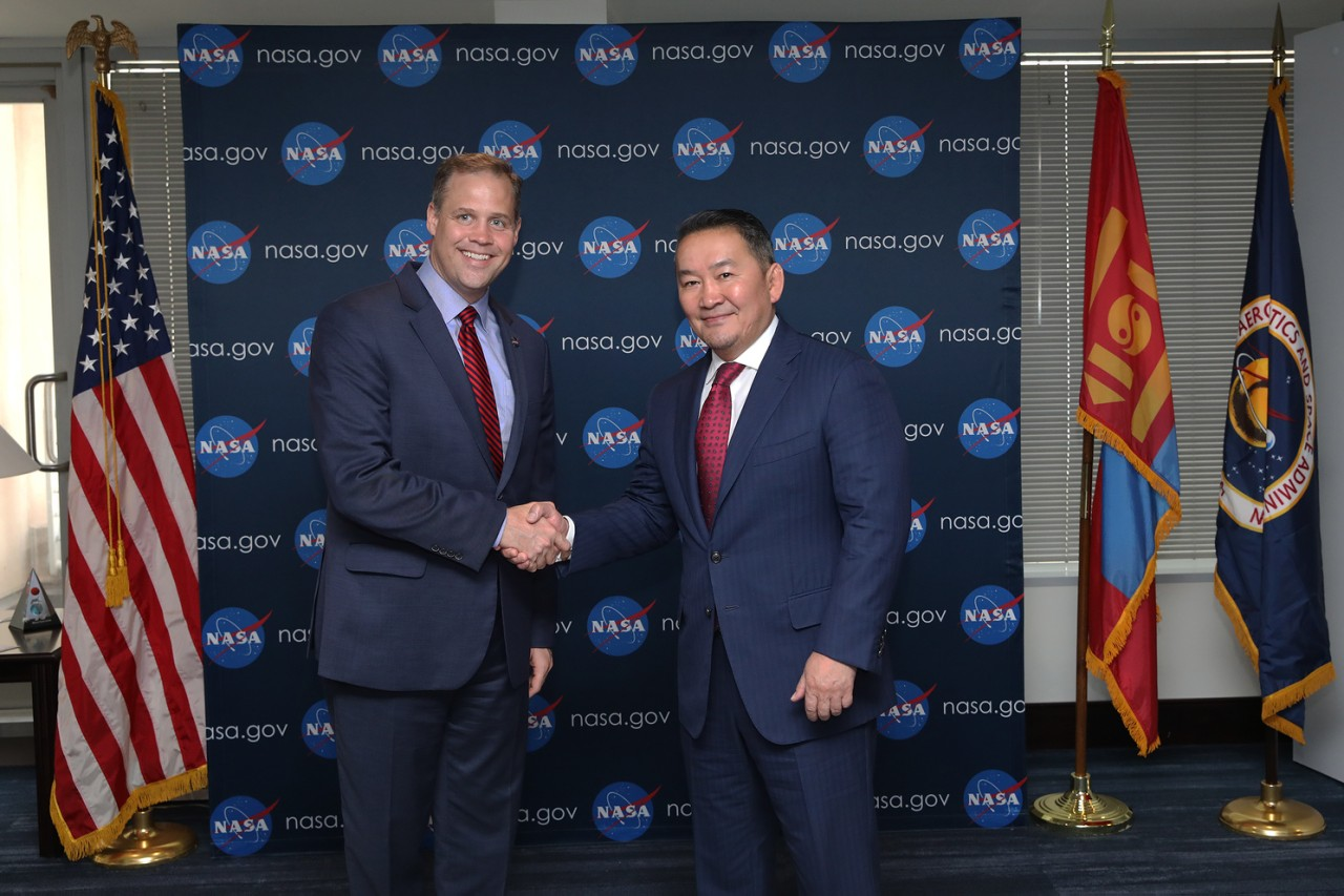MEETING WITH JIM BRIDENSTINE, ADMINISTRATOR OF THE NATIONAL